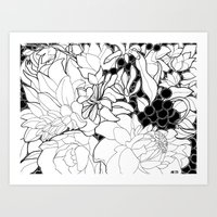 Korean Spring Art Print
