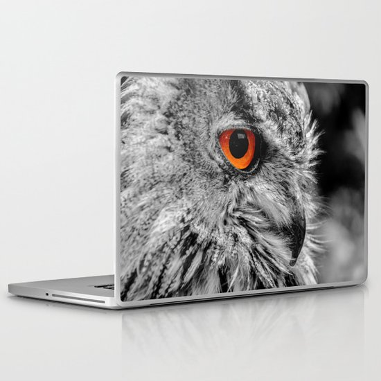 ORANGE OF MY EYE Laptop & iPad Skin