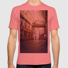 Old London Mens Fitted Tee Pomegranate SMALL