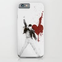 iPhone & iPod Case featuring Queen of Hearts by Alan Bao