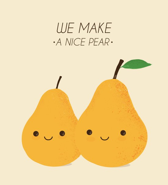 We make a nice pear Art Print