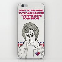 I Love You Just the Way You Are iPhone & iPod Skin