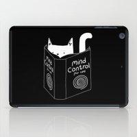Mind Control 4 Cats iPad Case