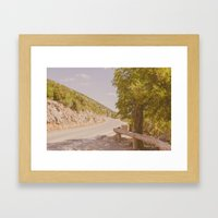 Summer Memories Framed Art Print