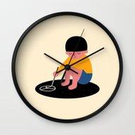 Peace Please Wall Clock