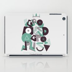 Crooked Typography iPad Case