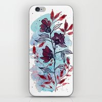 Floral 29 iPhone & iPod Skin