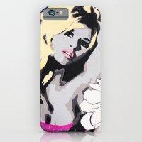 iPhone & iPod Case featuring Brigitte Bardot Je te aime by Paola Gonzalez