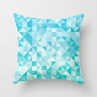 pattern #28 - sea Throw Pillow