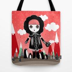 Eskimo Girl, I love you. Tote Bag