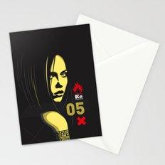 Fashion Dark Woman Stationery Cards