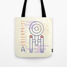 MNML: NCC-1701 Tote Bag