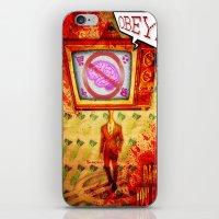Dance,you Fools! iPhone & iPod Skin