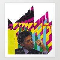 P/Y Man Art Print