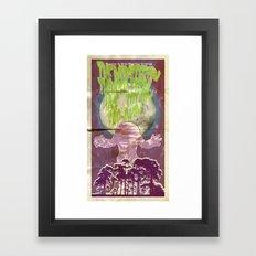 Monsterish Thinger Framed Art Print