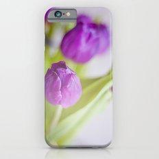 Tulipanes morados.  iPhone 6s Slim Case