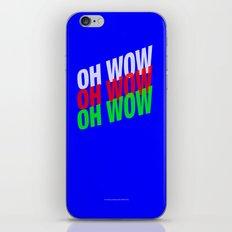 OH WOW #3 iPhone & iPod Skin