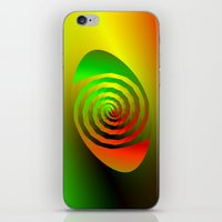 Together Entwined as One iPhone & iPod Skin