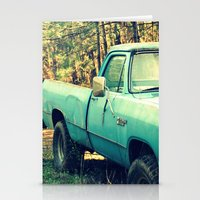 Ole' Blue Stationery Cards