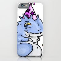 iPhone Cases featuring Drool's Birthday by kealaphotography