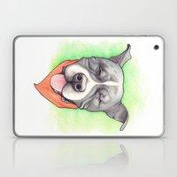 Pitbull - Love is blind - Stevie the wonder dog Laptop & iPad Skin