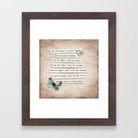Reiki Principles No.2 Framed Art Print