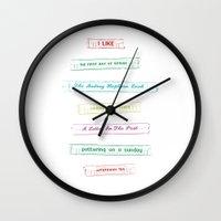 List No. 1 Wall Clock
