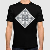 Microcosm Mens Fitted Tee Black SMALL
