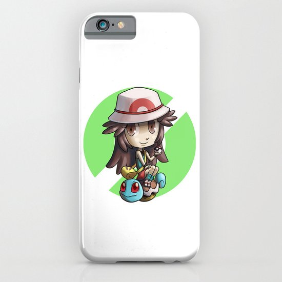 Pokemon trainer GREEN iPhone & iPod Case