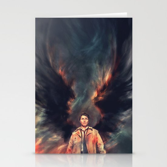 The Angel of the Lord Stationery Card