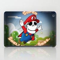 Super Skellington Bros. iPad Case