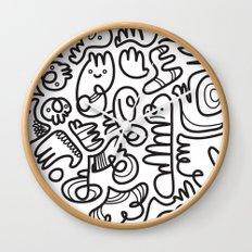 #20 Doodle Wall Clock