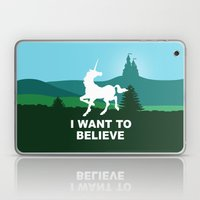 I WANT TO BELIEVE - Unic… Laptop & iPad Skin