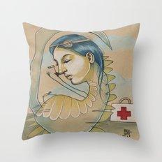 DR. DINO Throw Pillow