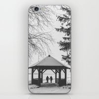 Winter is better with a friend iPhone & iPod Skin