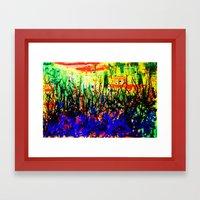 Intangible Forest Framed Art Print
