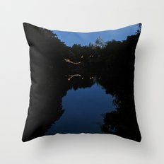 Expedition Everest (Night Time) Throw Pillow