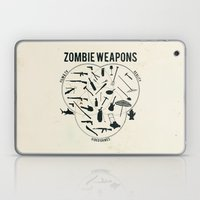 Zombie weapons Laptop & iPad Skin