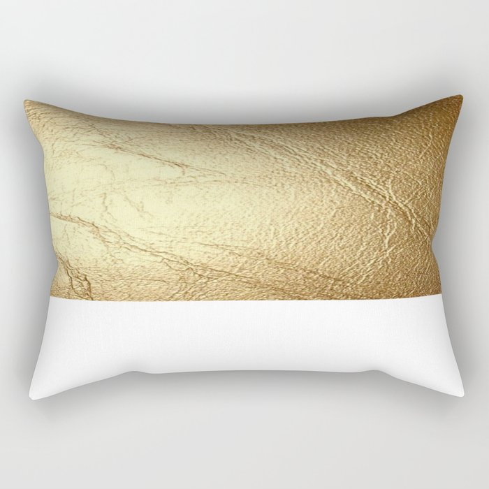 GolD & wHiTe Rectangular Pillow by   BoGiatzi. Society6