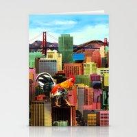 San Francisco City Chicken Stationery Cards