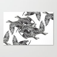 Canvas Print featuring BIRDS by Pliska Dasha