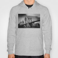 Brooklyn Bridge In B&W Hoody
