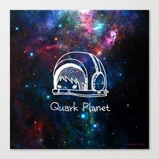 Quark Planet Canvas Print