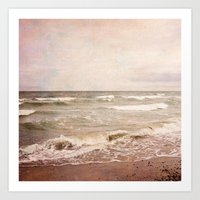 Romantic Seascape Art Print