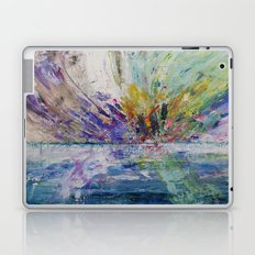 Live life to the fullest - abstract painting Laptop & iPad Skin