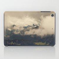Mountains through the Fog iPad Case