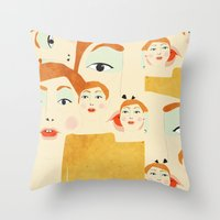 Hen Throw Pillow