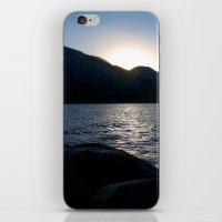 Fallen Leaf Lake At Suns… iPhone & iPod Skin