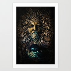 The Stone Sorcerer Art Print