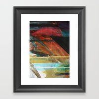 Art Textiles Framed Art Print